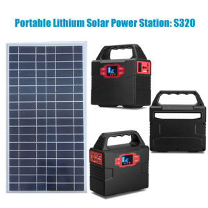 Portable Solar Energy Generator Solar Panel Li-Polymer Battery Solar Power System Generator pictures & photos