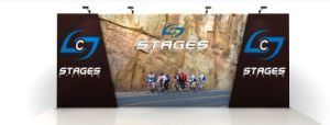 Straight Inline Fabric Ez Tube Display Stand Exhibition Booth pictures & photos