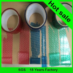 Golden Color Hot Stamping Hologram Anti-Fake Sticker Security Tape pictures & photos