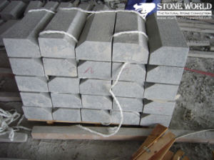 Cheap Grey Granite Machine Cut Kerbstone pictures & photos