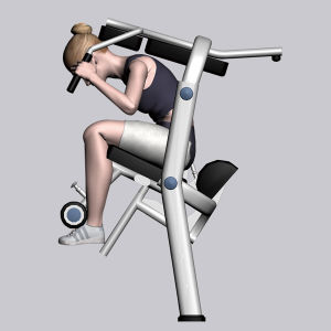 Bodybuilding Equipment Fitness for Abdominal Crunch (M7-1004) pictures & photos