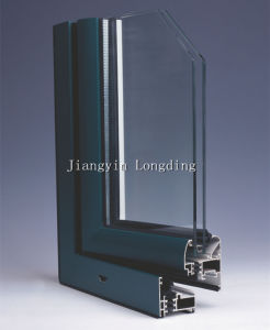 Power Coating Aluminum Profiles for Windows and Doors pictures & photos