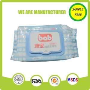 Customized Spunlace Nonwoven Baby Use Wet Wipes pictures & photos
