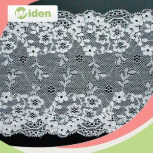 Customer Designs Are Welcomed Chiffon Rose Flower Lace Stretch Lace pictures & photos