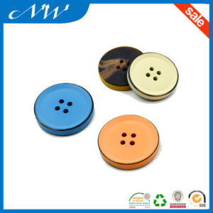 Painted Colorful Polyester Button for Over Coat pictures & photos