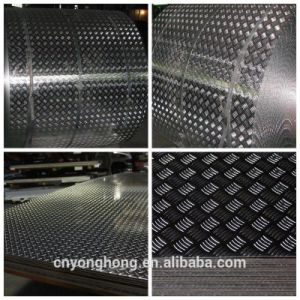 1050 1060 3003 Aluminum Diamond Sheet for Anti-Slip Floor Manufacturer pictures & photos