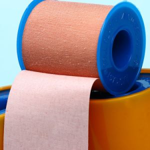 Medical Cotton Zinc Oxide Adhesive Tape pictures & photos