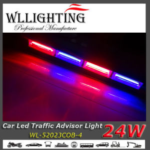 Red Blue Auto LED Lightbar with COB Chip pictures & photos