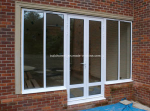 Multiple Configurations Double Glass Aluminium Doors pictures & photos