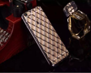 Electroplating TPU Mobile Phone Case Named Lambskin for iPhone 6s/6plus (XSDD-008) pictures & photos