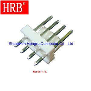 2.54 Pitch Vertical PCB Wire-to-Board Connector Header pictures & photos