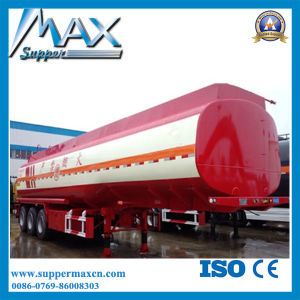 3 Axle 42m3 Oil Tank Semi Trailer pictures & photos