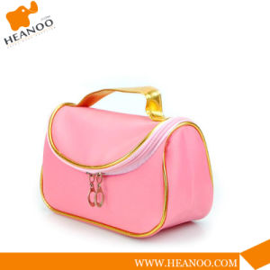 Beauty Travel Wholesale Toiletry PU Make up Cosmetic Bag pictures & photos