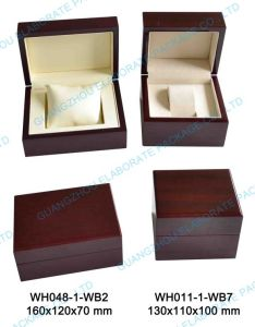 Natral Handmade Wooden Box for Watch and Bangel pictures & photos