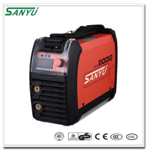 Sanyu 2016 New MMA Portable Welding Machine MMA-200g IGBT pictures & photos