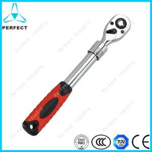 Telescopic Handle Chrome Vanadium Quick Release Ratchet Wrench pictures & photos
