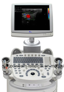 Big LCD Display Mobile 3D, 4D Color Doppler (D60) pictures & photos