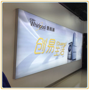 Appliance Store Poster Display Light Panel with Frameless Silicon Edge pictures & photos