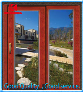 High Quality Larch Casement Wood Window (KDSW191)
