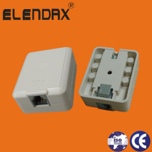 Telephone Outlet Box - Single (P7006) pictures & photos