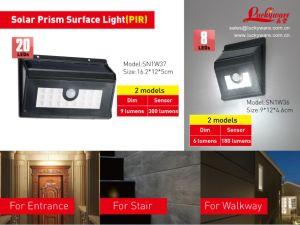 Solar Prism Surface Light PIR pictures & photos