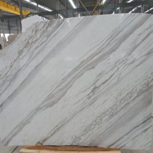Polished Natural Stone Volakas White Marble Panels pictures & photos