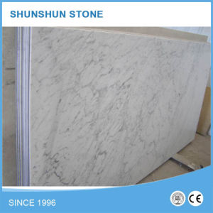 White Bianco Carrara Marble Slabs (high quality, good selling) pictures & photos