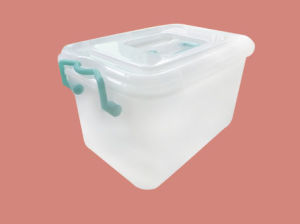 Plastic Storage Box for Food/Clothes/Products