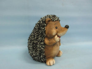 Hedgehog Shape Ceramic Crafts (LOE2530-C18) pictures & photos