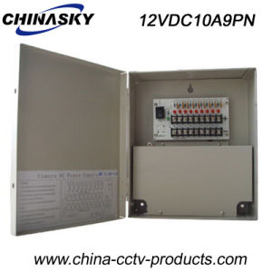 12VDC 10AMP 9 Channel Regulated CCTV Power Supply (12VDC10A9PN) pictures & photos