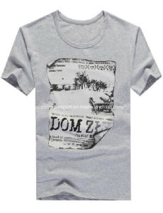 Men′s Fashion Printed Cotton T-Shirt for Summer pictures & photos