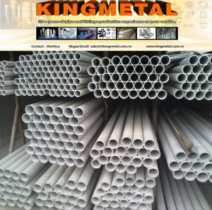 201 Sch40 Good Quality of Threaded Stainless Decoration Tube Pipe. pictures & photos