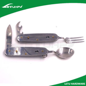All in One Fork Spoon Knife pictures & photos