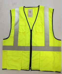 High Visible Reflective Safety Vest with Many Pockets pictures & photos