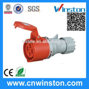 Wst 514 4pin High-End Type Industrial Plug 16A IP44 Industrial Connector with CE, RoHS Approval pictures & photos