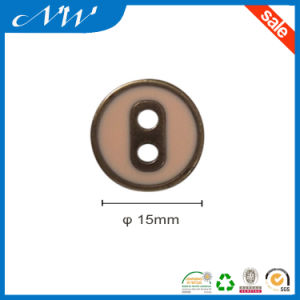 Factory Price for Zinc Alloy Button with Enamel Color pictures & photos