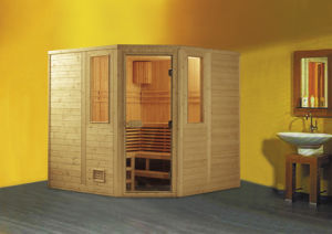 Monalisa 2 Meter Luxury Imported Finland Wood Sauna Room (M-6006) pictures & photos
