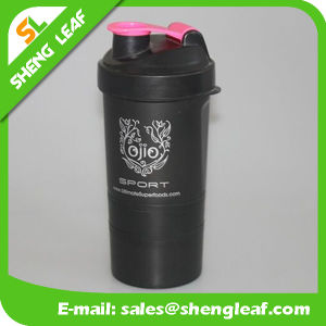 Transparent Shaking Custom Logo Juice Bottle (SLF-WB045) pictures & photos
