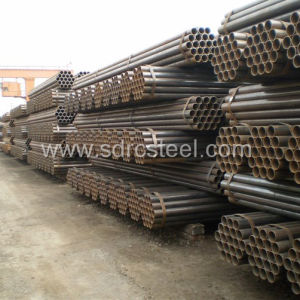ERW Carbon Round Steel Pipe for Gate pictures & photos