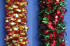 Tin-Foil Garland (101WE022-2G/ 101WE022-2R)