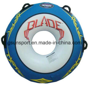 Winter Inflatable Round Snow Tube Sled Tube