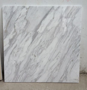 New Volakas White Marble Slab for Tiles and Countertops pictures & photos