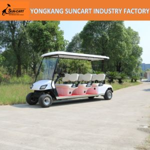 Wholesale Battery Powered 6 Seater Golf Cart, 6 Seater Cheap Electric Golf Cart for Sale pictures & photos