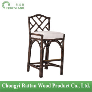 Natural Rattan Chinese Chippendale Barstool Bar Chair Stools pictures & photos