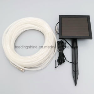 Solar Powered 33 FT 100 Cool White LEDs Waterproof String Rope Light 33FT Submersible Tube Wired Light pictures & photos