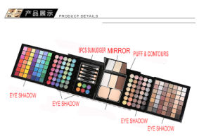 2017 Hot Sales Professional Cosmetics Set 177 Color Eyeshadow Contours Puff pictures & photos