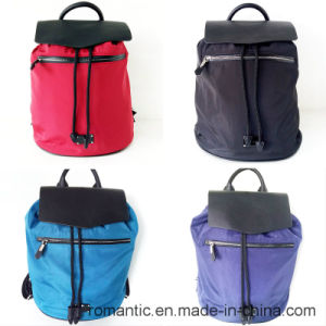 Fashion Ladies Nylon Backpack Bag Leisure Style Travel Bag (NMDK-032205) pictures & photos
