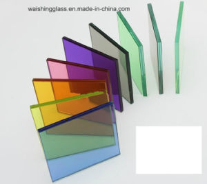 Wsg High Quality Bronze, Grey, Blue, Green, Pink Tempered Tinted Float Glass pictures & photos