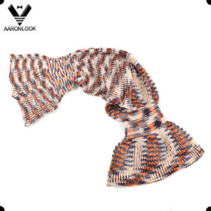 2017 New Design Hot Sale Colorful Acrylic Knitted Mermaid Scarf for Lady pictures & photos