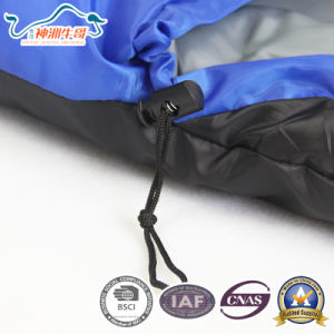 Cold Weather Winter Used Camping Envelope Sleeping Bags for Family pictures & photos